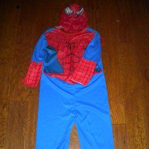 Marvel Spiderman 2 Piece Boys Halloween Costume